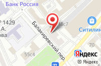 Схема проезда до компании Инфомедиа в Москве