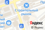 Схема проезда до компании Оазис в Донецке