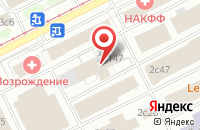 Схема проезда до компании Вбк Групп в Москве