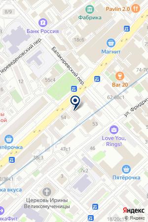 МОСКОВСКОЕ ПРЕДСТАВИТЕЛЬСТВО СТРОИТЕЛЬНАЯ КОМПАНИЯ KICHO-UNLIMITED на карте Москвы