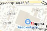 Схема проезда до компании ОДА Сервис в Москве