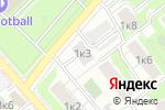 Схема проезда до компании Да в Москве