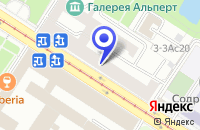 Схема проезда до компании САЛОН ИНСТРОЙМЕБЕЛЬ в Москве