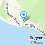 Аист на карте Новороссийска