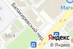Схема проезда до компании ЭлльВояж в Москве