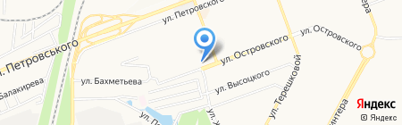 Vnet на карте Донецка