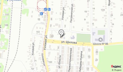 Кировский библиотечный пункт №1. Схема проезда в Донецке