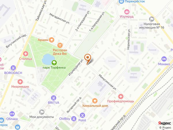 Остановка Минусинская ул. в Москве