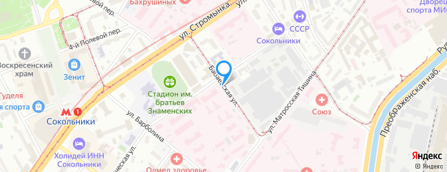 Бабаевская улица