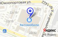 Схема проезда до компании АВТОСЕРВИСНОЕ ПРЕДПРИЯТИЕ ИНКОМ в Москве