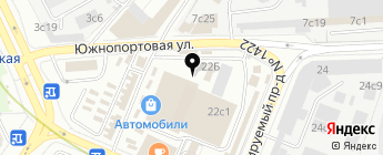 Apex на карте Москвы