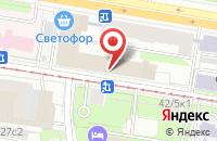Схема проезда до компании Ниц в Москве