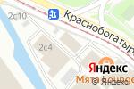 Схема проезда до компании Ай Ти Констракт в Москве