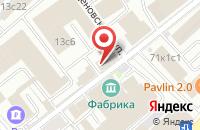 Схема проезда до компании Внештранссервис в Москве