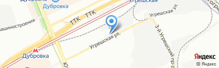 АльпКонВент на карте Москвы