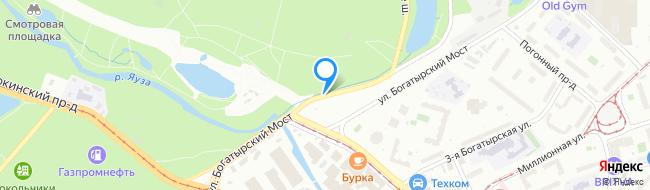 улица Богатырский Мост