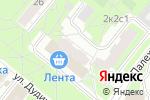 Схема проезда до компании BILLA в Москве