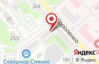 Схема проезда до компании Палермо в Москве