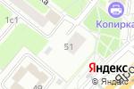 Схема проезда до компании Ярославское шоссе 51 в Москве