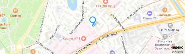 Малая Остроумовская улица
