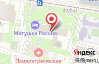 Схема проезда до компании Корса в Москве
