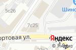 Схема проезда до компании Автоинструмент24.рф в Москве