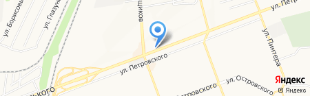 Пятёрочка на карте Донецка