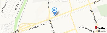 ШвидкоГроші микрофинансовая компания на карте Донецка