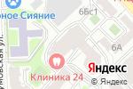 Схема проезда до компании Эстетика тела в Москве