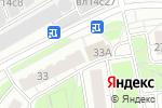 Схема проезда до компании Ногти-Ки в Москве
