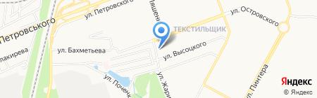 Тисса на карте Донецка