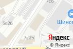 Схема проезда до компании Глобал Пак в Москве