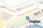 Схема проезда до компании Импульс+ в Донецке