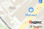 Схема проезда до компании Bizon в Москве