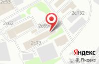 Схема проезда до компании Ос Продакшн в Москве
