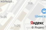 Схема проезда до компании Гелакси Страхование в Москве