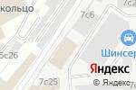 Схема проезда до компании Столица Печати в Москве