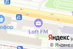 Схема проезда до компании Формула-1 в Москве