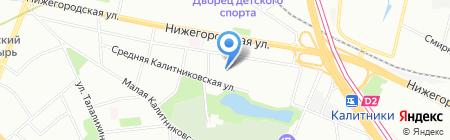 СИТИ-М ГРУПП на карте Москвы