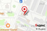 Схема проезда до компании Юникс в Москве