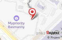 Схема проезда до компании Русское Счастье Дистрибьюшн в Москве