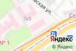 Схема проезда до компании Национальное общество по сомнологии и медицине сна в Москве