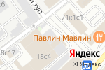 Схема проезда до компании Siva в Москве