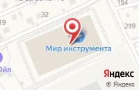 Схема проезда до компании Мир инструмента в Федюково