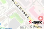 Схема проезда до компании Райский Уголок в Москве