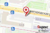Схема проезда до компании Редакционные Вести в Москве