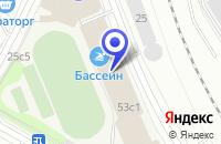 Схема проезда до компании ДВОРЕЦ ДЕТСКОГО СПОРТА в Москве