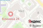 Схема проезда до компании Respect-decor в Москве