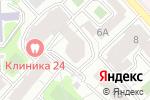 Схема проезда до компании Гаммапринт в Москве