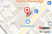 Схема проезда до компании Иннова Дистрибьюшен в Москве